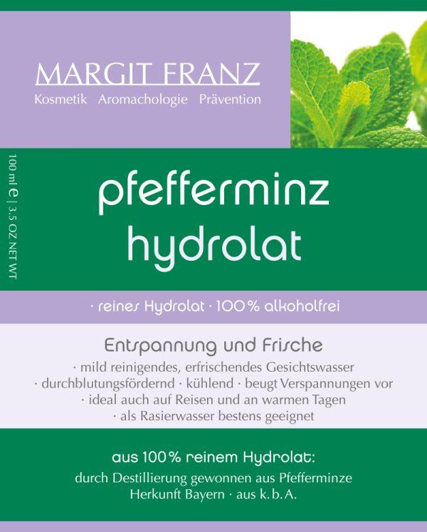 pfefferminz hydrolat