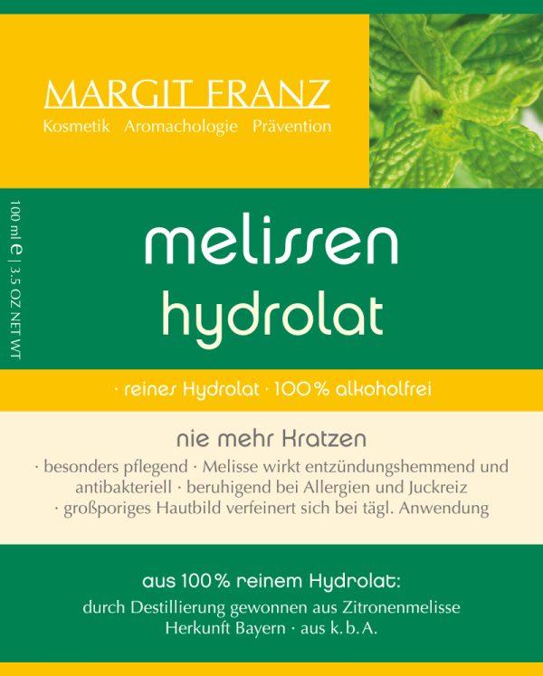 melissen hydrolat